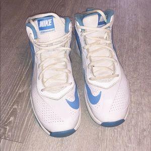 Nike youth 5.5 hightops blue/white